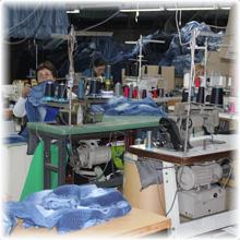 La fábrica es una verdadera producción en serie.