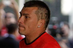Corte de cabello de alexis sanchez 2017