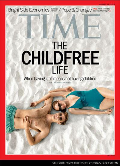 portada Time, hijos