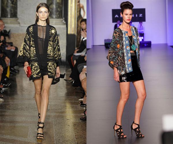 kimonos, tendencias, primavera