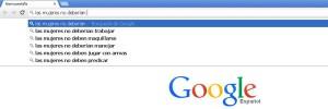 Google, mujeres, derechos