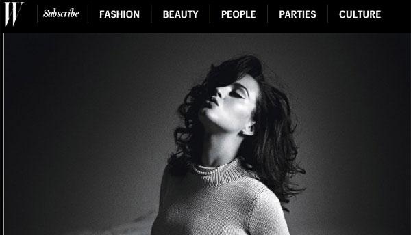 Katy Perry, W Magazine