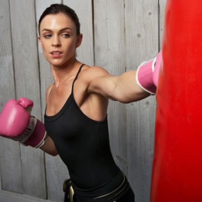 como bajar de peso haciendo boxeo