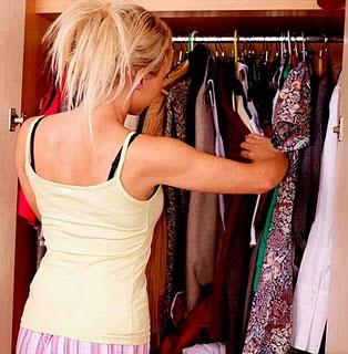 vestido, closet