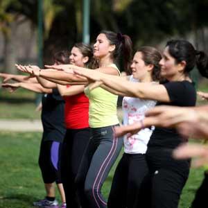 zumba y pilates