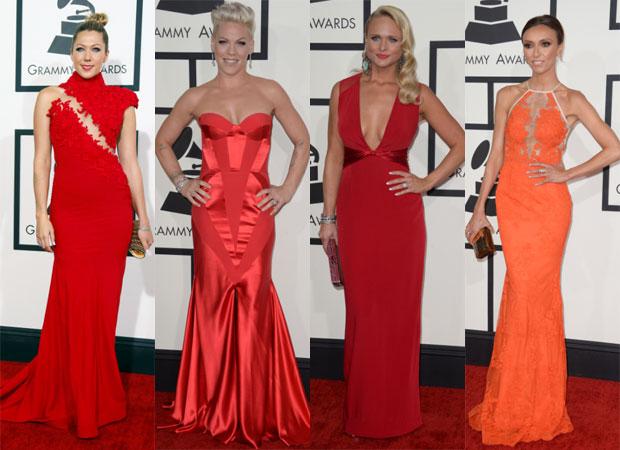 rojo, tendencia, Grammys