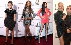 mini vestidos, elle style awards, emma watson, karolina kurkova, jessie j