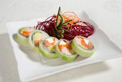 sushi, pepino, afrodisíaco