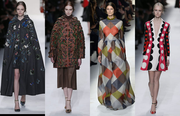 valentino, patchwork, paris, ready to wear