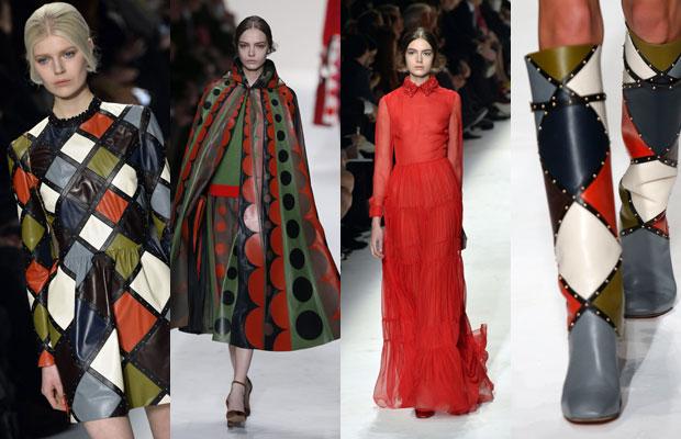 valentino, patchwork, ready to wear, paris