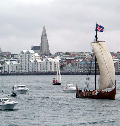 islandia, mujer, país