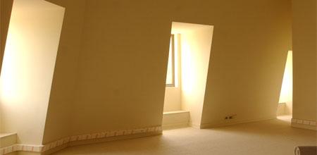 iluminación, oficina