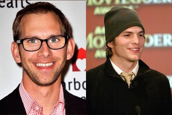 Ashton Kutcher, Michael Kutcher, mellizos, hermanos