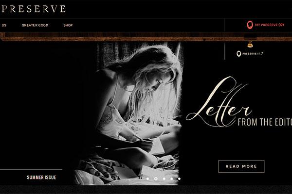 blake lively, preserve, sitio web