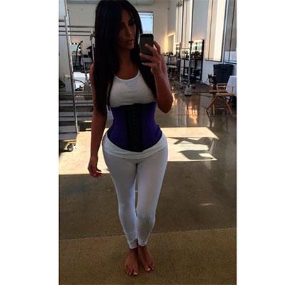 kim kardashian, cintura