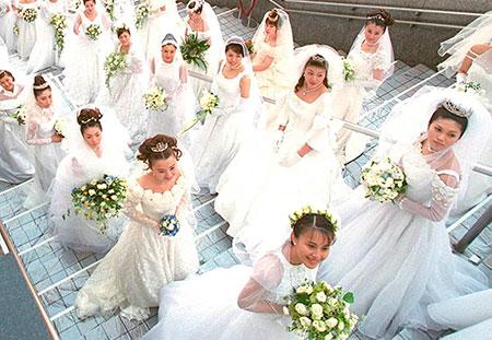 matrimonio, novias, japón