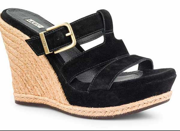 ugg, zapato, sandalia, primavera, verano