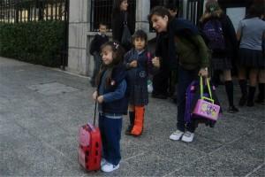 rueditas mochila colegio