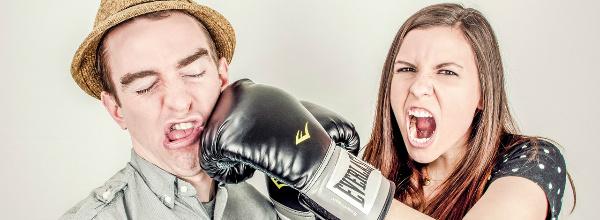 pelea pareja