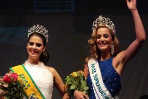 Nicole Scott Miss Eco Chile 2015 (izq) y Valentina Schnitzer Miss Supranational Chile (der)