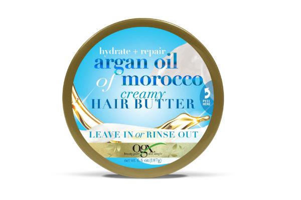 Esta crema creada con proteínas de seda y aceite de argán, ayuda a dejar tu cabello lustroso, suave y brillante.