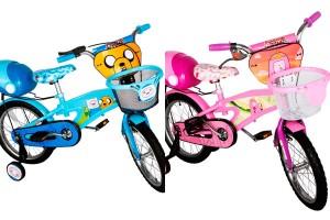 Bicicletas Bebeglo Hora de Aventura disponibles en www.babypoint.cl. Su aro 16 las hacen aptas para niños entre 4 y 8 años.