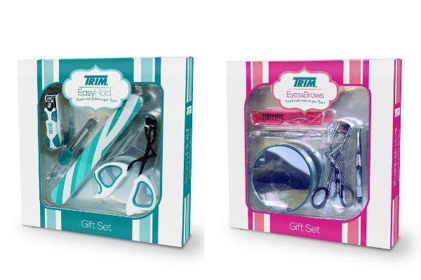 """Estuchería """"Easy Hold"""", incluye 4 productos idealea para el cuidado del rostro y manos.  Estuchería """"Eyes & Brows"""" contiene 5 productos que te ayudarán al momento de aplicar tu maquillaje."""