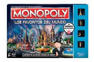 Monopoly Favoritos del Mundo, es perfecto para generar espacios para compartir en familia. Ahora la familia podrá pasear por Hong Kong, Berlín o Nueva York, comprando propiedades y llenando de sellos el  pasaporte.