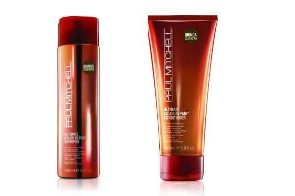 Este shampoo y acondicionar de quinoa están destinados a cabellos coloreados y protege y repone el cabello.