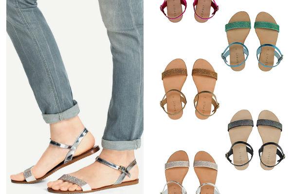 Es hora de mostrar los pies con esta entretenida colección de sandalias disponible en todas las tiendas Esprit.
