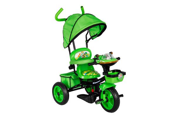 Triciclos multietapas de Baby Point Store son ideales para niños a partir de los 18 meses hasta los 5 años de edad. También tienen entretenidos accesorios como conexión para MP3, melodías y luces.