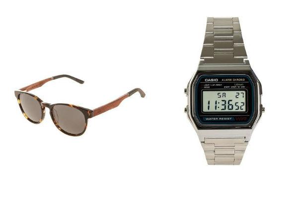 Lentes y reloj que puedes encontrar en Dafiti