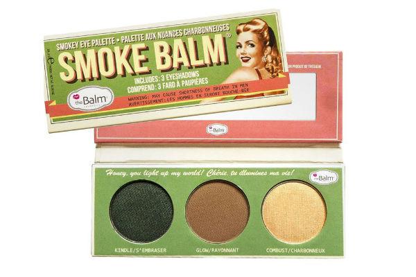 Minipaleta Smoke Balm Green The Balm que puedes encontrar en Dafiti. Especialmente diseñada para smokey eyes.