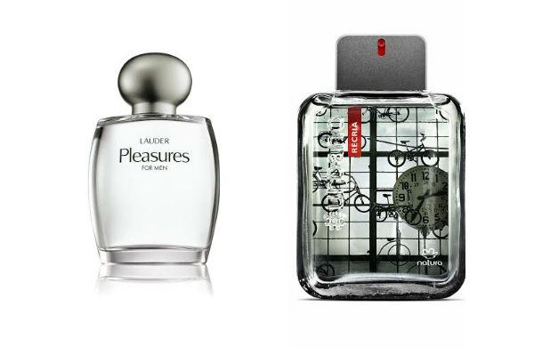 Perfumes de Estee Lauder y de Natura