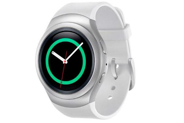 Reloj Gear S2 de Samsung ofrece una experiencia de visualización vibrante para un smartwatch, gracias a su pantalla circular. El dispositivo es compatible con cualquier smartphone con Android 4.4 o superior.