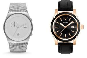 Relojes Skagen y Bulova en relojerías 12:34