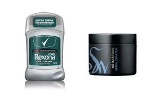 Los que nunca son mal recibidos: desodorante Rexona y Cera de Sebastian