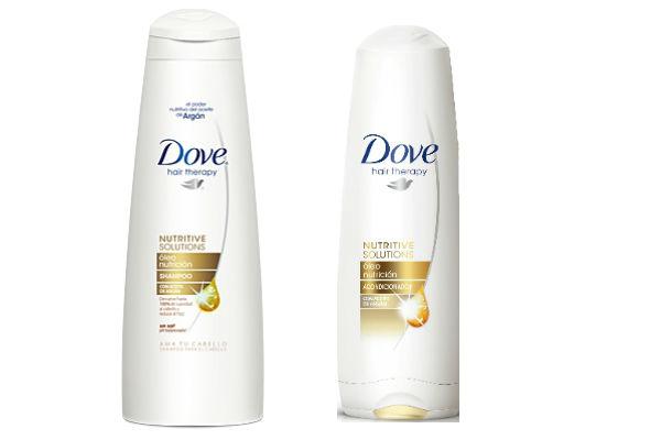 El nuevo shampoo y acondicionador de Dove Óleo Nutritivo tiene una fórmula única, de textura liviana, que contiene una combinación de aceites especialmente elegidos para nutrir y revitalizar el pelo.