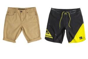 Short fashion de Americanino y deportivo de Quicksilver