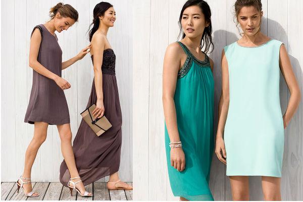 Summer Pastel Dresses de Esprit son ideales para disfrutar de las calurosas tardes de verano. Hay vestidos en diferentes modelos, colores, estampados y estilos.