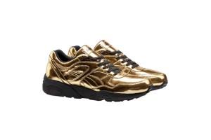Zapatillas doradas de Puma, para los fashionistas