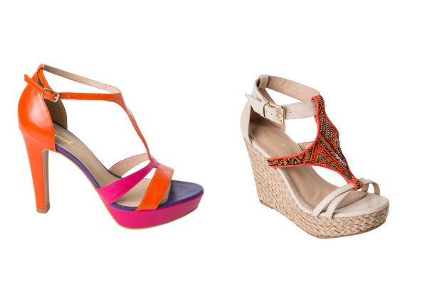 Gacel propone zapatos más descubiertos con plataformas, tacos y otros planos ideales para el día a día.