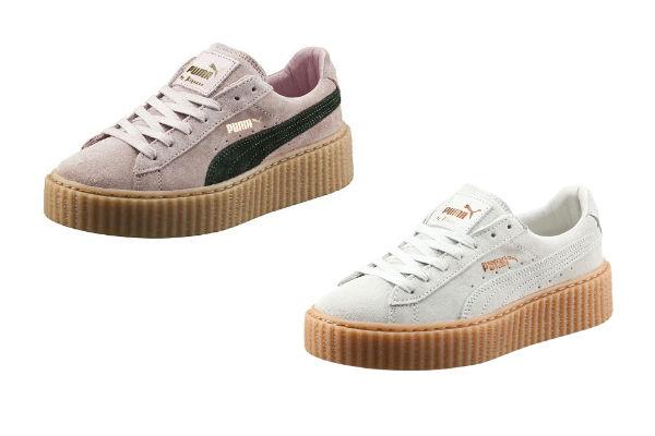 Puma sabe que las zapatillas se vienen con todo. Por eso, lanzó sus nuevas Creeper en blanco, uno de los hit, y también en Rosa Cuarzo..