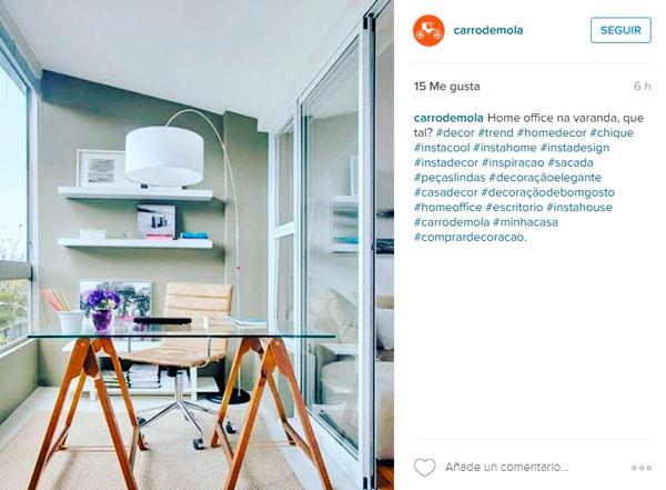 Publicada en Instagram por @Carrodemola
