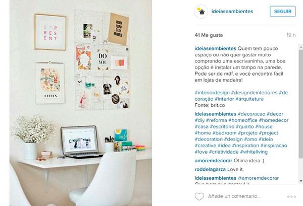 Publicada en Instagram por @ideasambiente