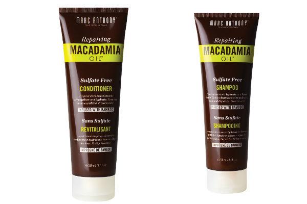 Shampoo y Acondicionador de macademia  Marc Anthony