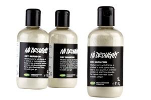 Dry shampoo de Lush.