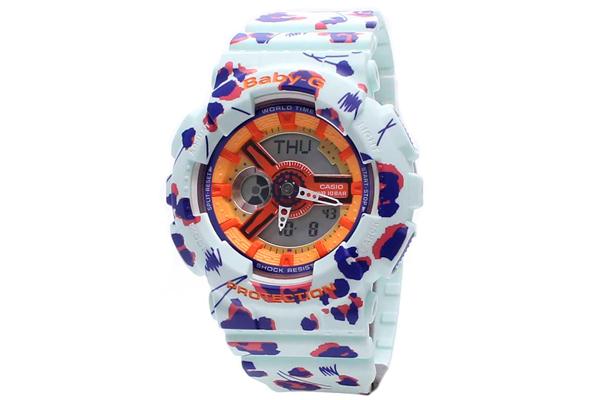 "Reloj Baby-G ""Leopardo de flores"""