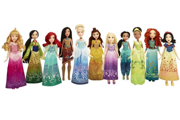 Muñecas de Hasbro de las Princesas Disney