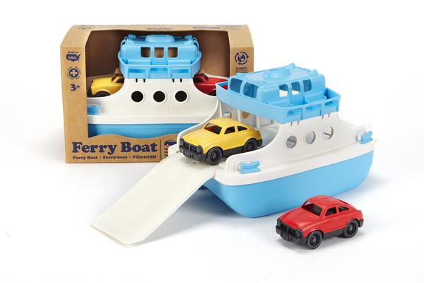Ferry de Green Toys disponibles en Bebé Urbano.